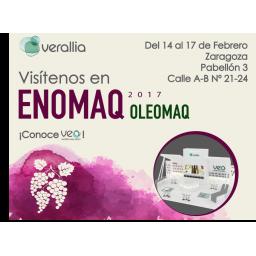Visítenos en Enomaq - Oleomaq 2017 en la feria de Zaragoza del 14-17 de Febrero